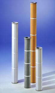 Cartouches filtrantesPlitex 3000 pour métallurgie - Matières plastiques - Bois