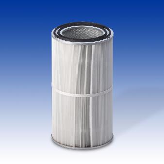Cartouche filtrante diamètre 327 mm avec 2 joints