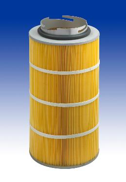 Cartouche filtrante diamètre 327 mm avec baïonnette