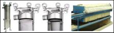 Filtration liquide : filtres à poches filtrantes, toiles filtre bande, toile filtre presse, toile sur cadre