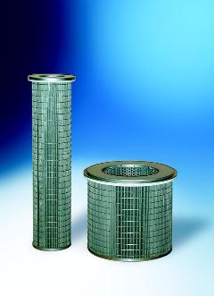 Cartouches filtrantes pour filtration de gaz chauds pour sécheurs et fonderies