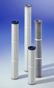 Cartouches filtrantes diamètre 128 pour industrie alimentaire