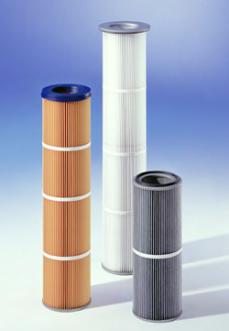 Cartouches filtrantes diamètre 228 pour industrie alimentaire ou industrie chimique