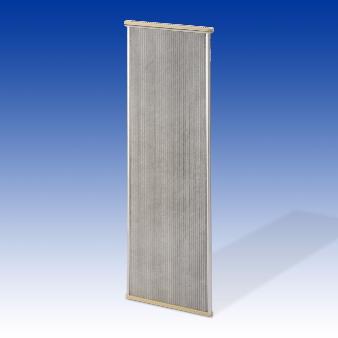Panneau filtrant pour l'industrie diamètre 495