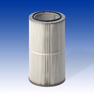 Cartouches filtrantes Microtex diamètre 327 pour industrie pharmaceutique et turbines à gaz