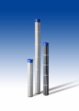 Cartouches filtrantes Easy fit diamètre 157 - 150 mm