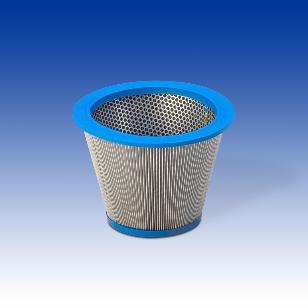 Cartouches filtrantes coniques diamètre 363 - 214 mm