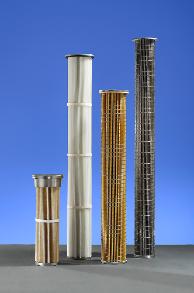 Cartouches filtrantes haute résistance pour incinération - industrie chimique - industrie alimentaire